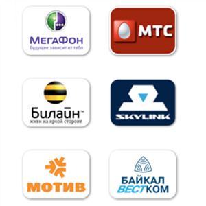 Операторы сотовой связи Усть-Ордынского